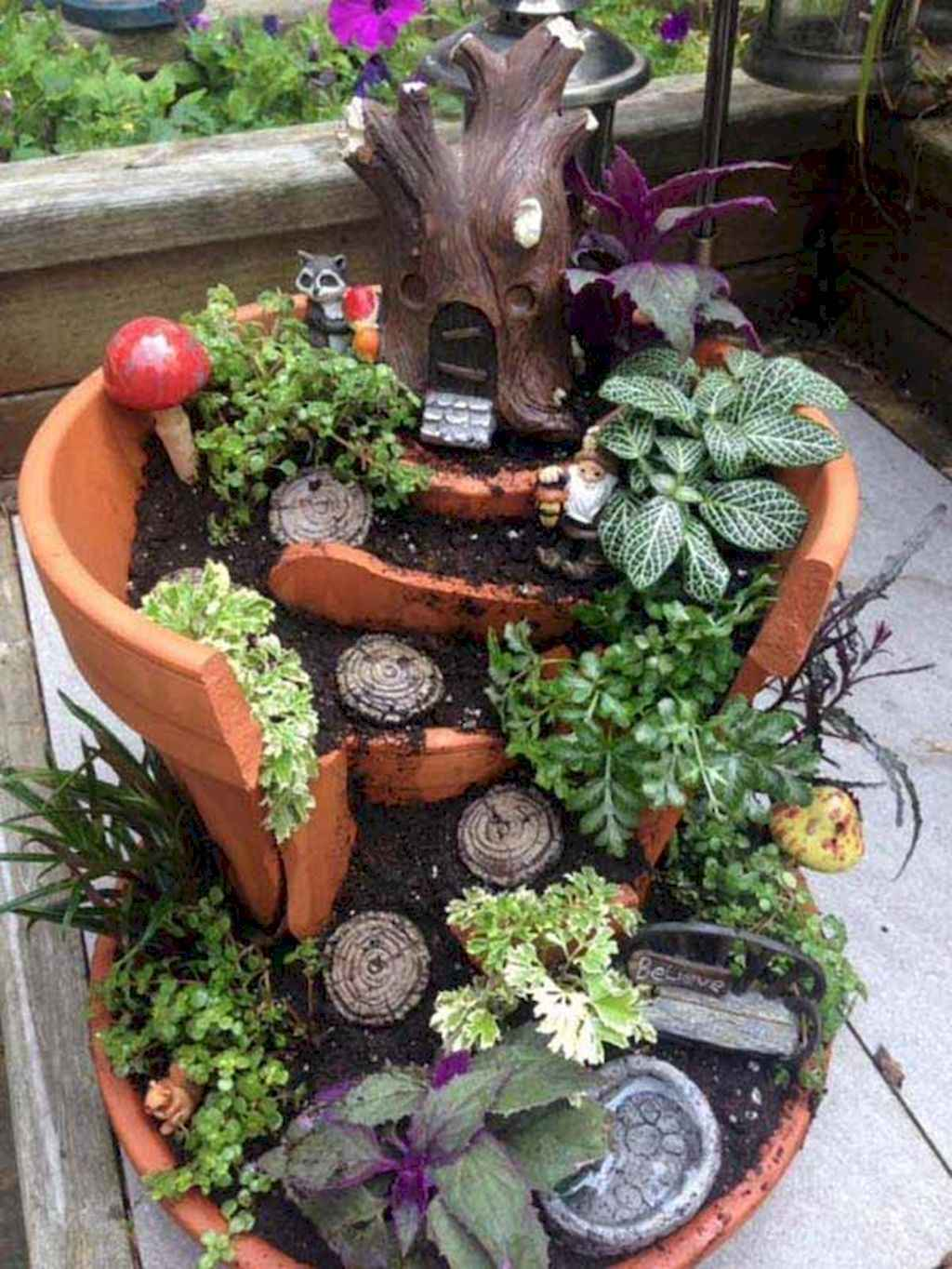 50 beautiful diy fairy garden design ideas 34 - Fairy Garden Design Ideas