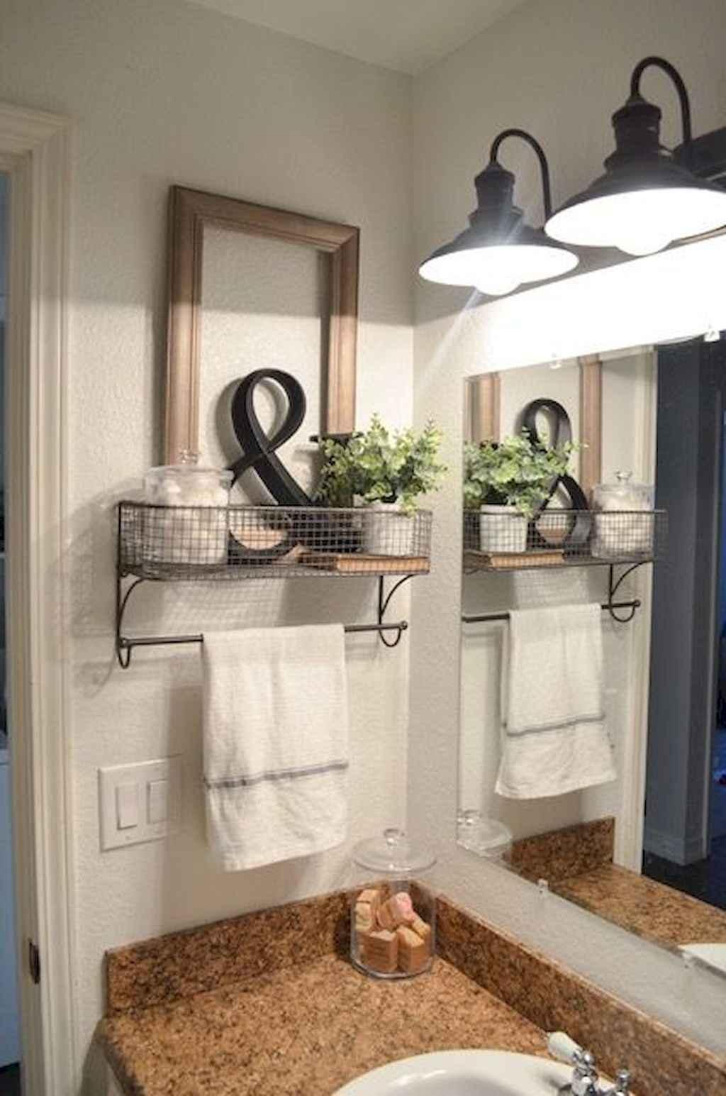 50 rustic farmhouse master bathroom remodel ideas (46) - Roomadness.com