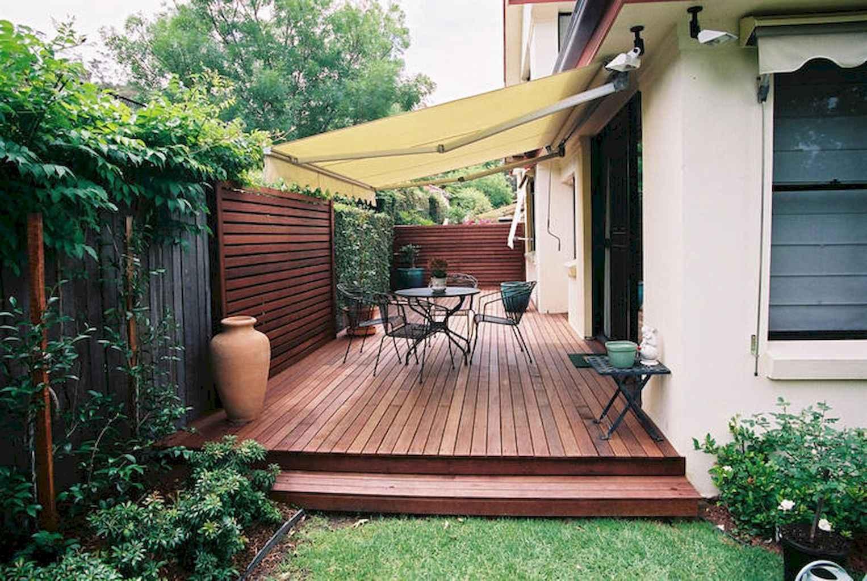 70 creative diy backyard privacy ideas on a budget 60 for Garden decking ideas on a budget