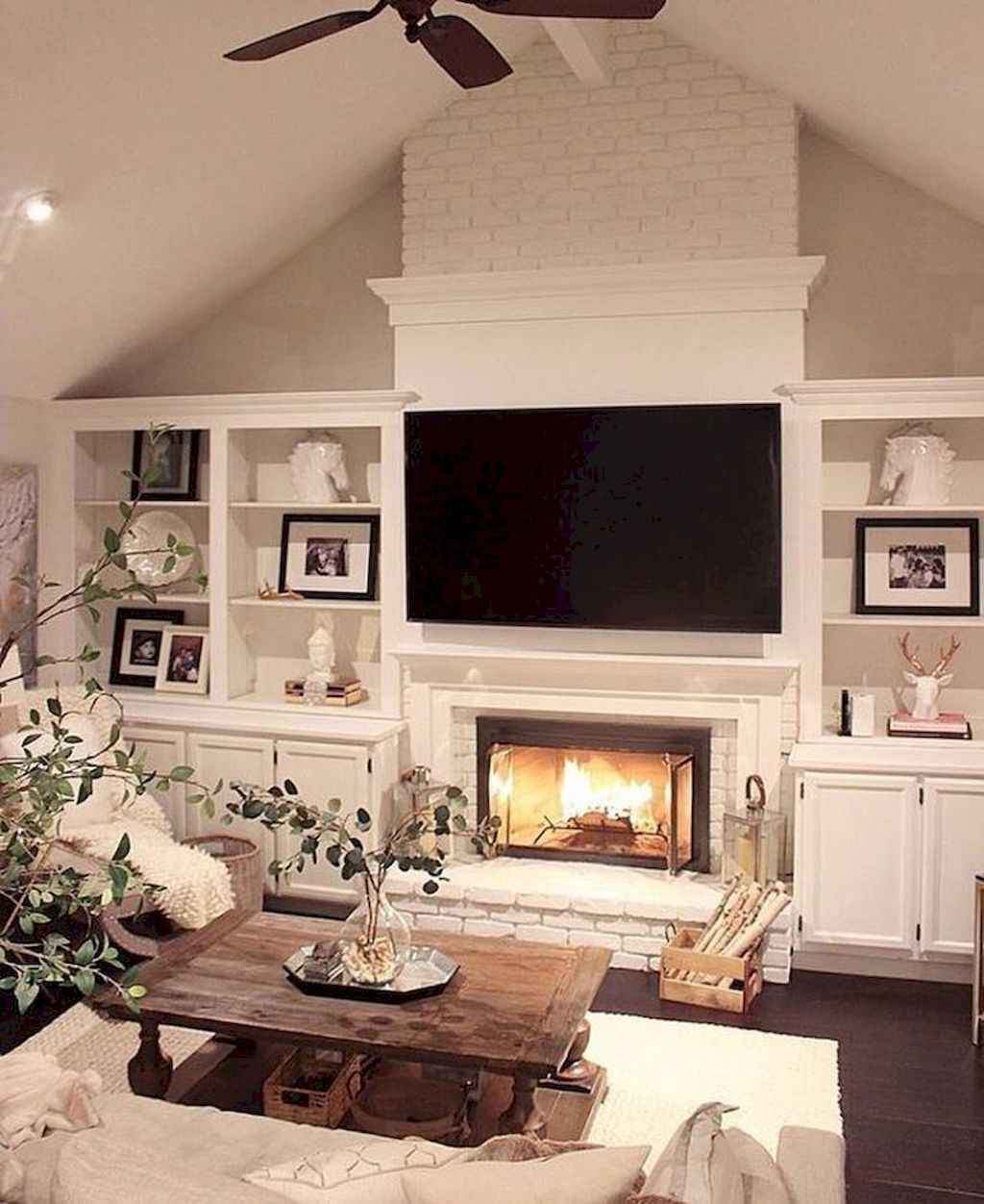 Published November 25 2017 At 1024 X 1252 In 80 Incridible Rustic Farmhouse Fireplace Ideas Makeover