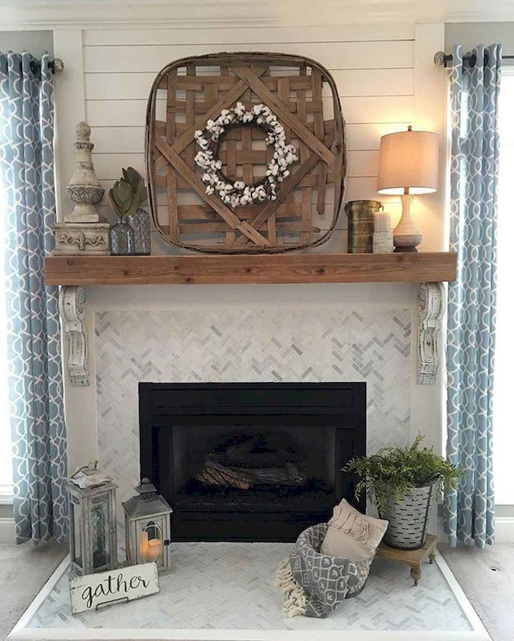 Published November 25 2017 At 1024 X 1278 In 80 Incridible Rustic Farmhouse Fireplace Ideas Makeover