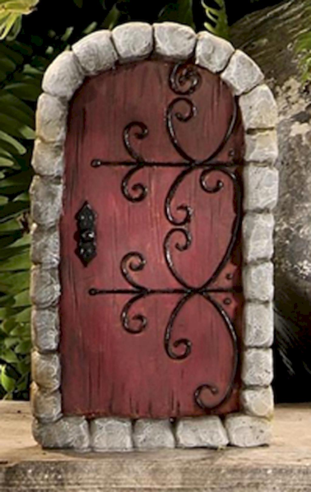 120 easy to try diy polymer clay fairy garden ideas 63 for Homemade fairy doors