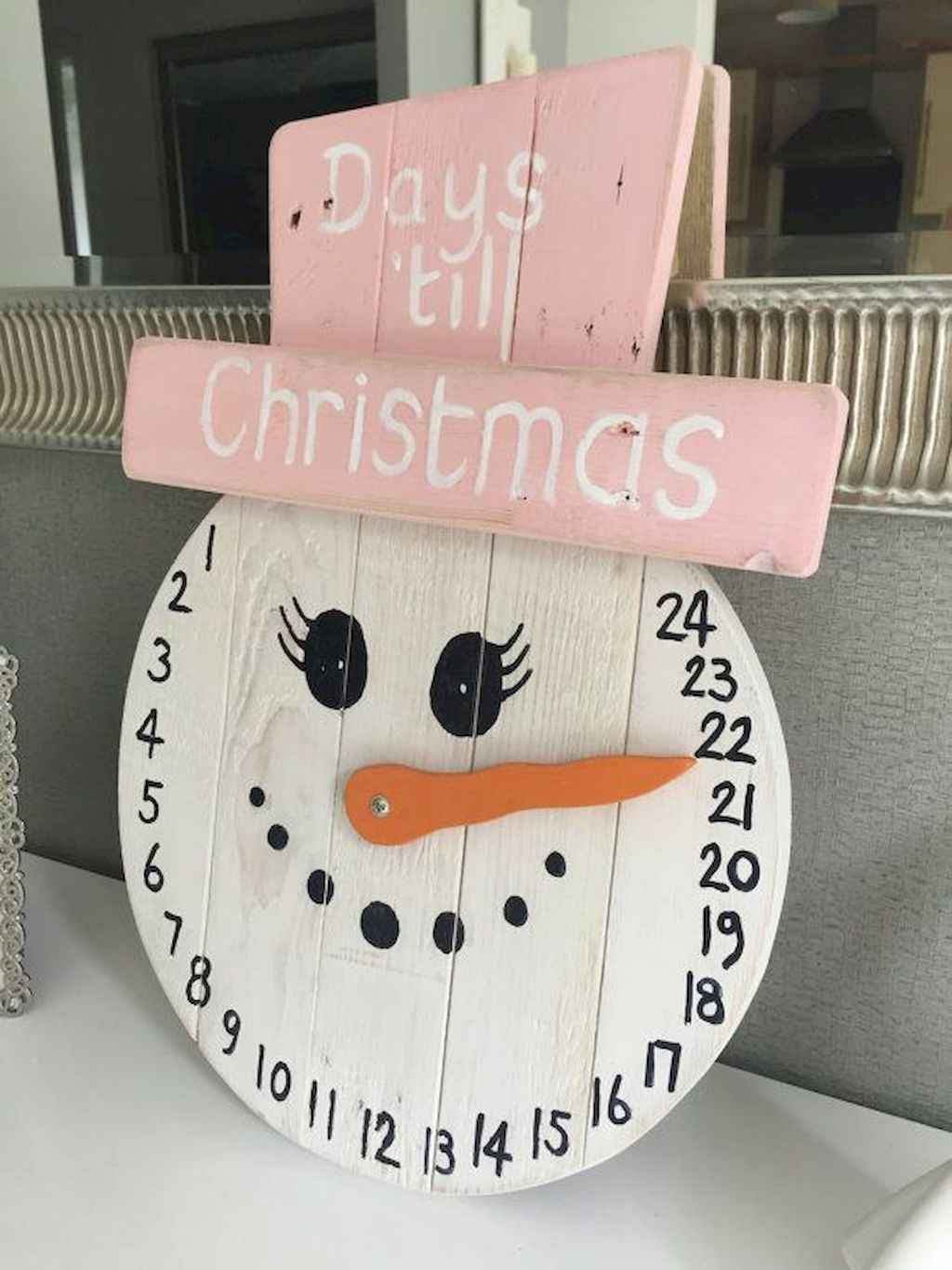 25 gorgeous diy crafts wooden christmas ideas (6) - Roomadness.com