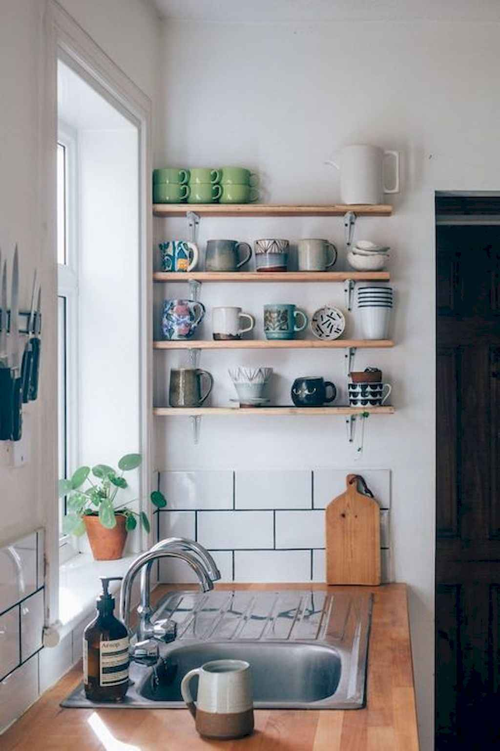 Published December 28 2017 At 1024 1536 In 50 Amazing Small Apartment Kitchen Decor Ideas