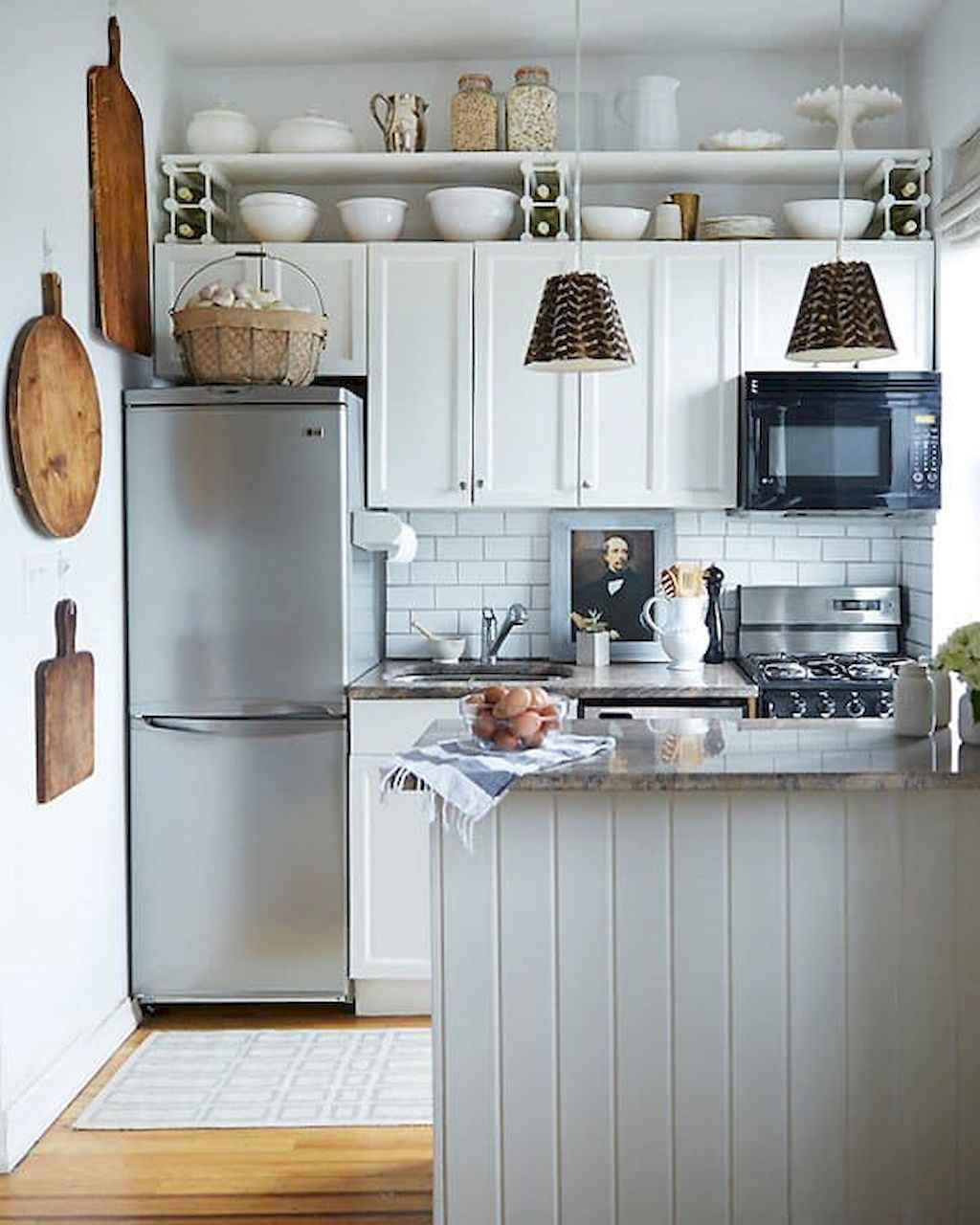 50 Amazing Small Apartment Kitchen Decor Ideas 7