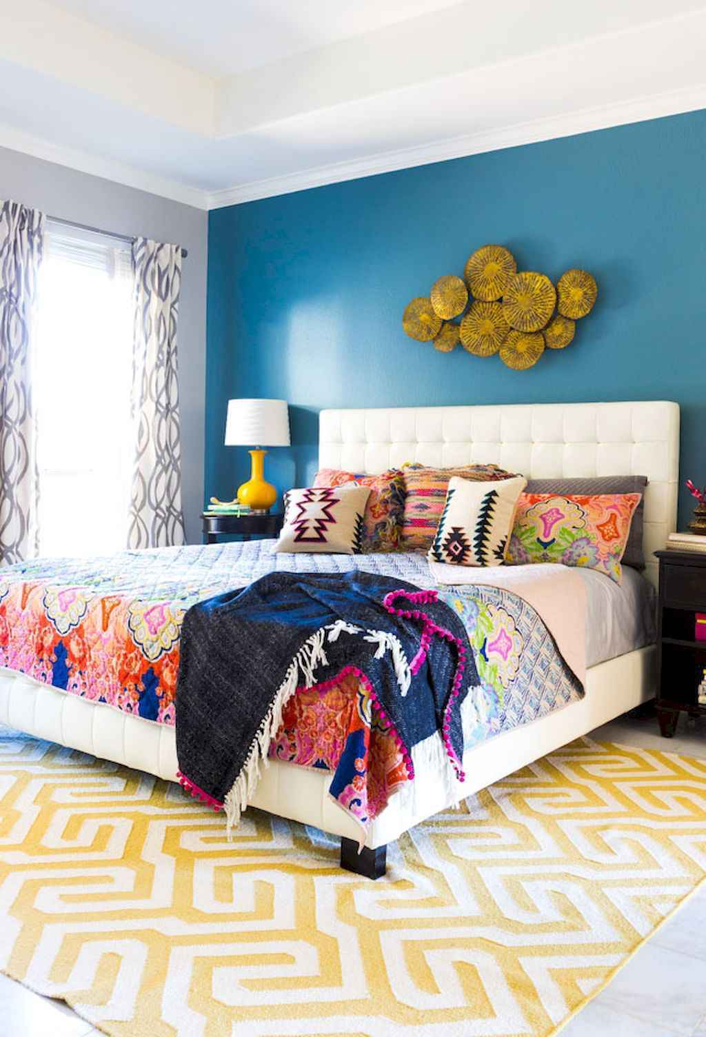 60 cool eclectic master bedroom decor ideas (57)