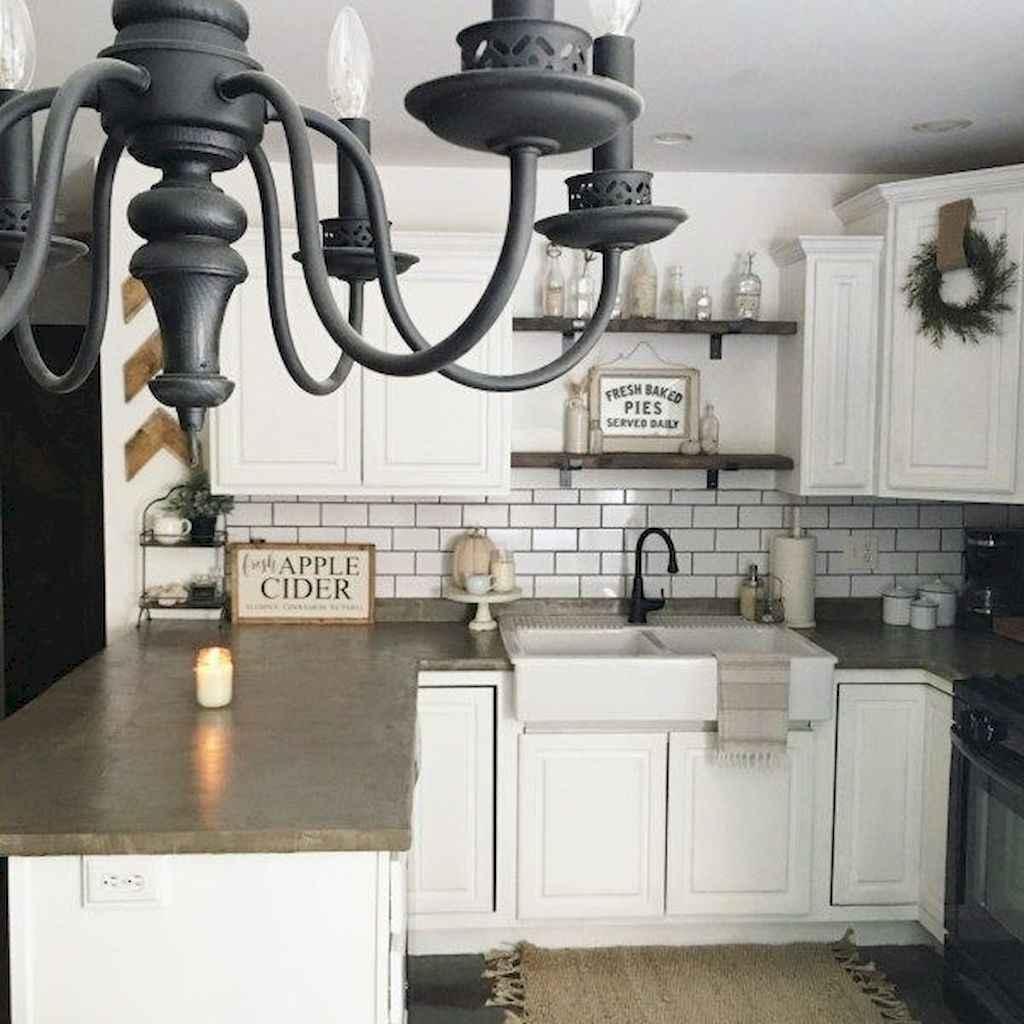60 fancy farmhouse kitchen backsplash decor ideas 4 for Fancy kitchen decor