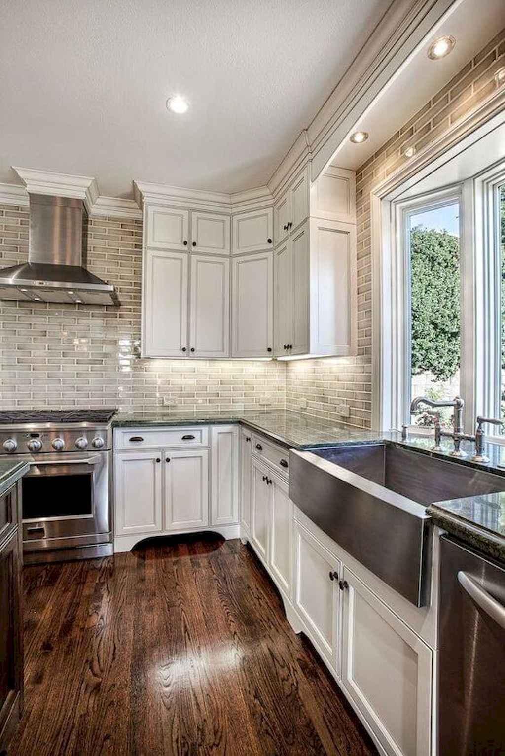 60 fancy farmhouse kitchen backsplash decor ideas 5 for Fancy kitchen decor
