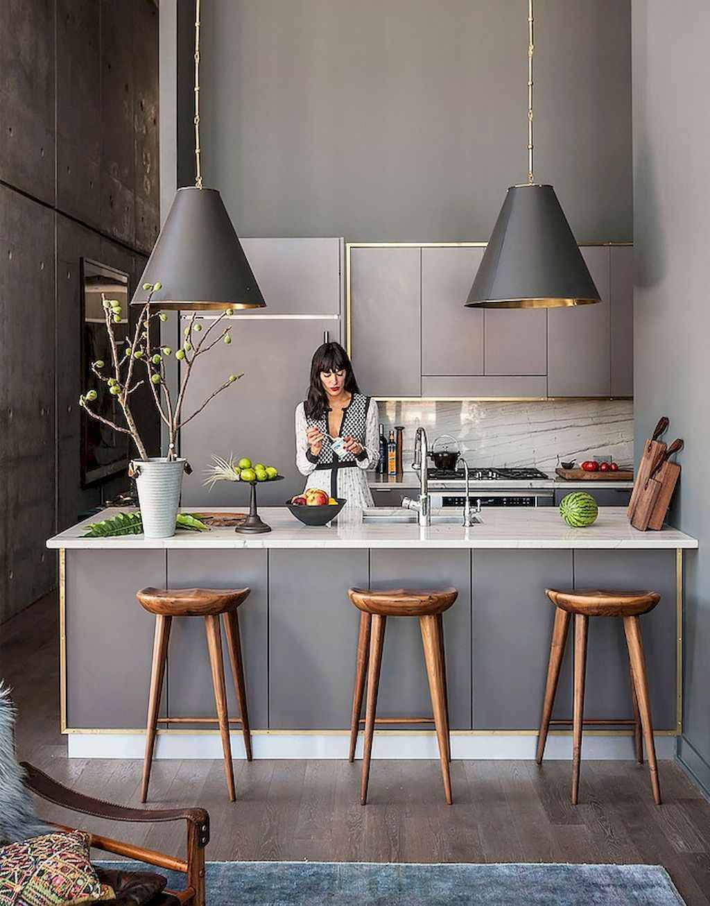 70 Cool Modern Apartment Kitchen Decor Ideas 25 Roomadness Com