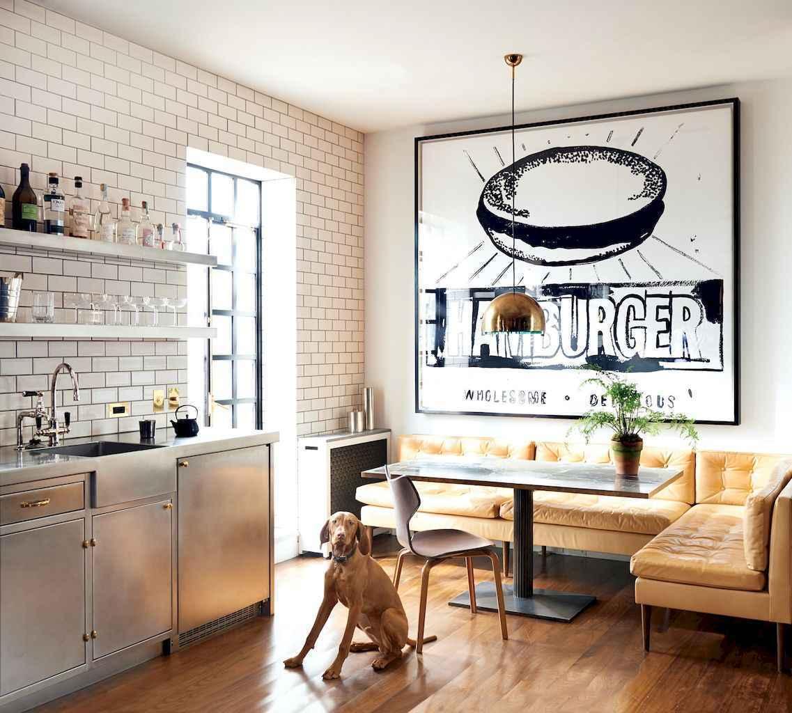 70 Cool Modern Apartment Kitchen Decor Ideas