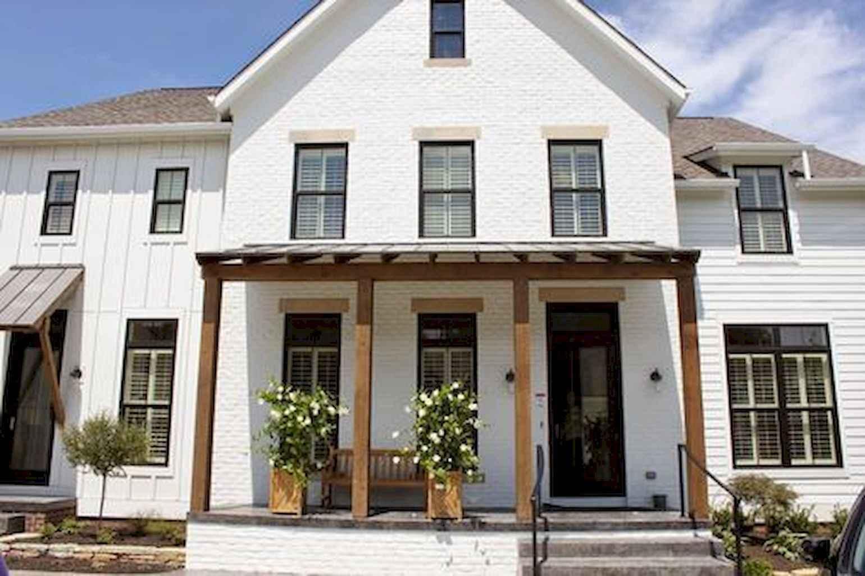 90 incredible modern farmhouse exterior design ideas (46 ... - photo#12