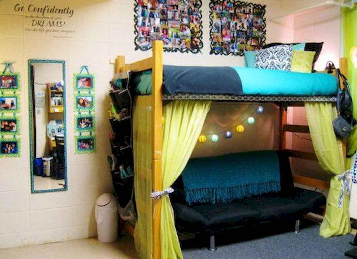 1410 1024 In 100 Cute Loft Beds College Dorm Room