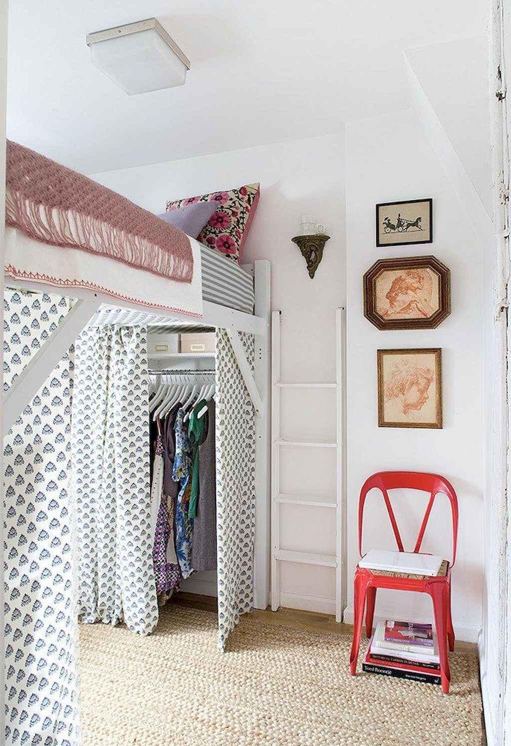 100 cute loft beds college dorm room design ideas for girl 30