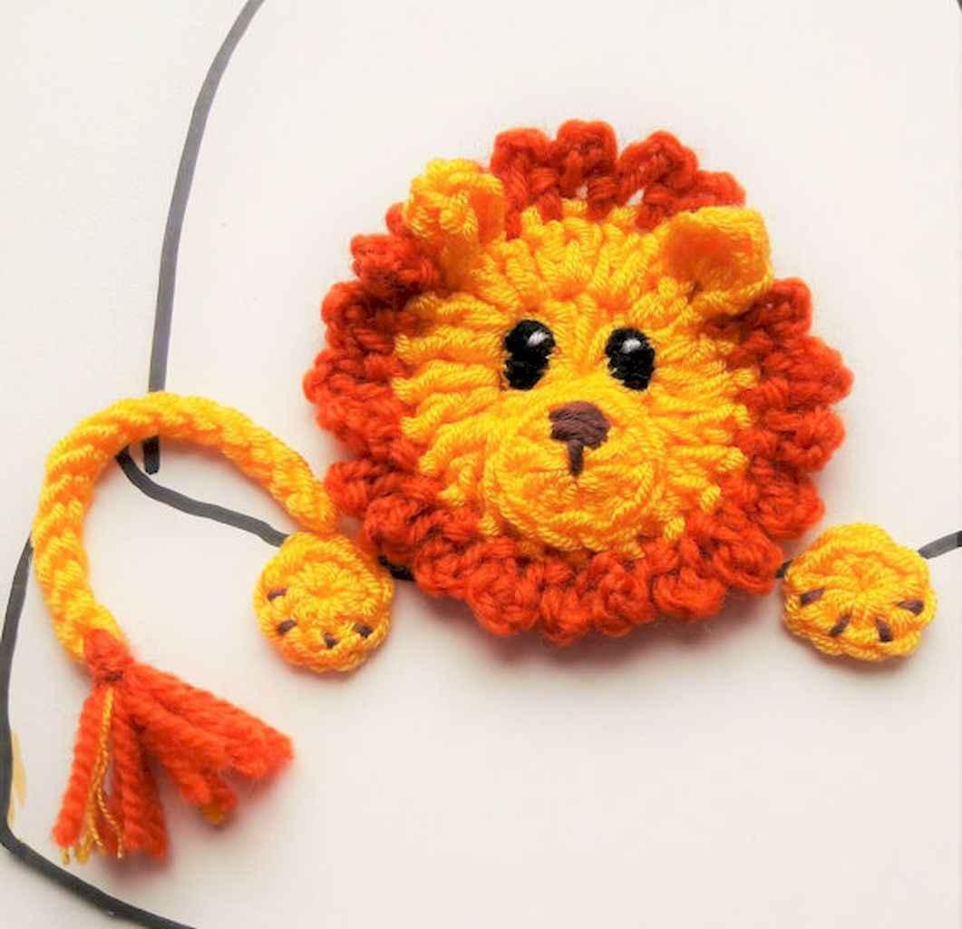 50 easy diy crochet animal scarf ideas for beginner (35)