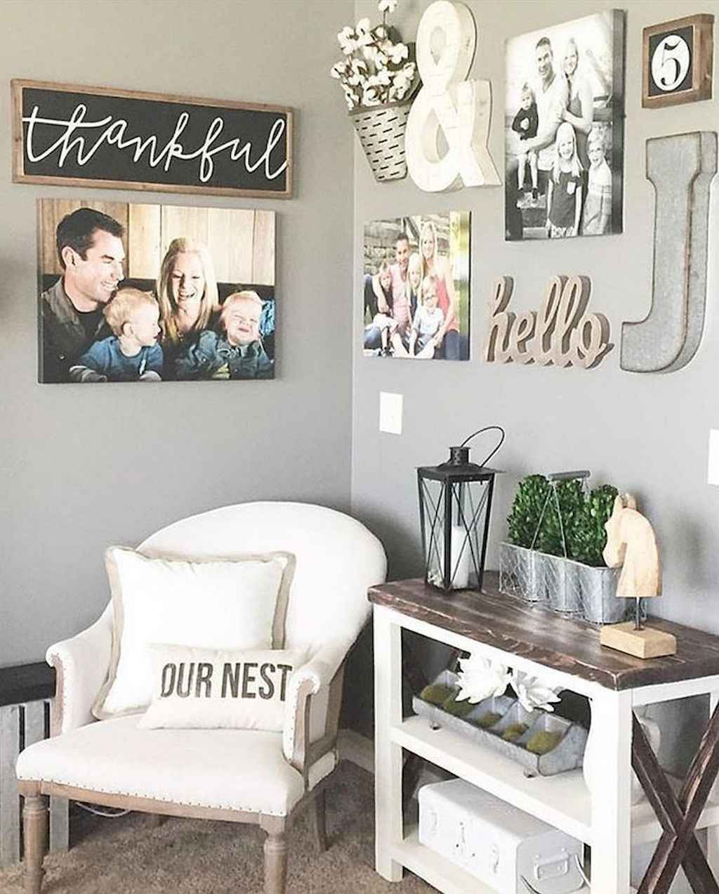 66 best farmhouse living room remodel ideas (21) - Roomadness.com