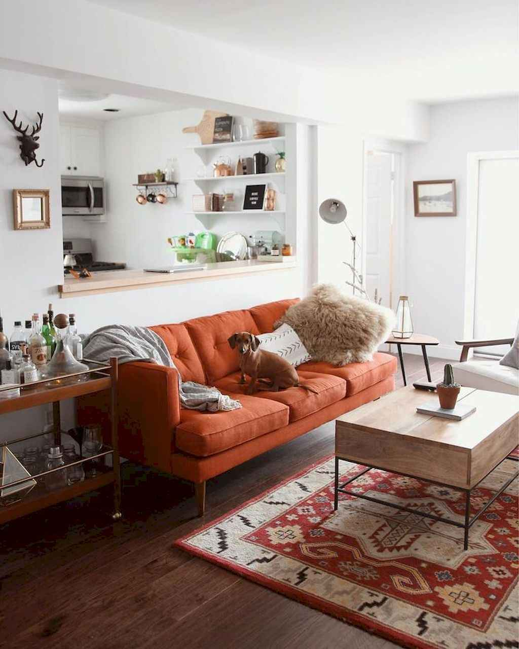 88 Beautiful Apartment Living Room Decor Ideas With Boho Style 166