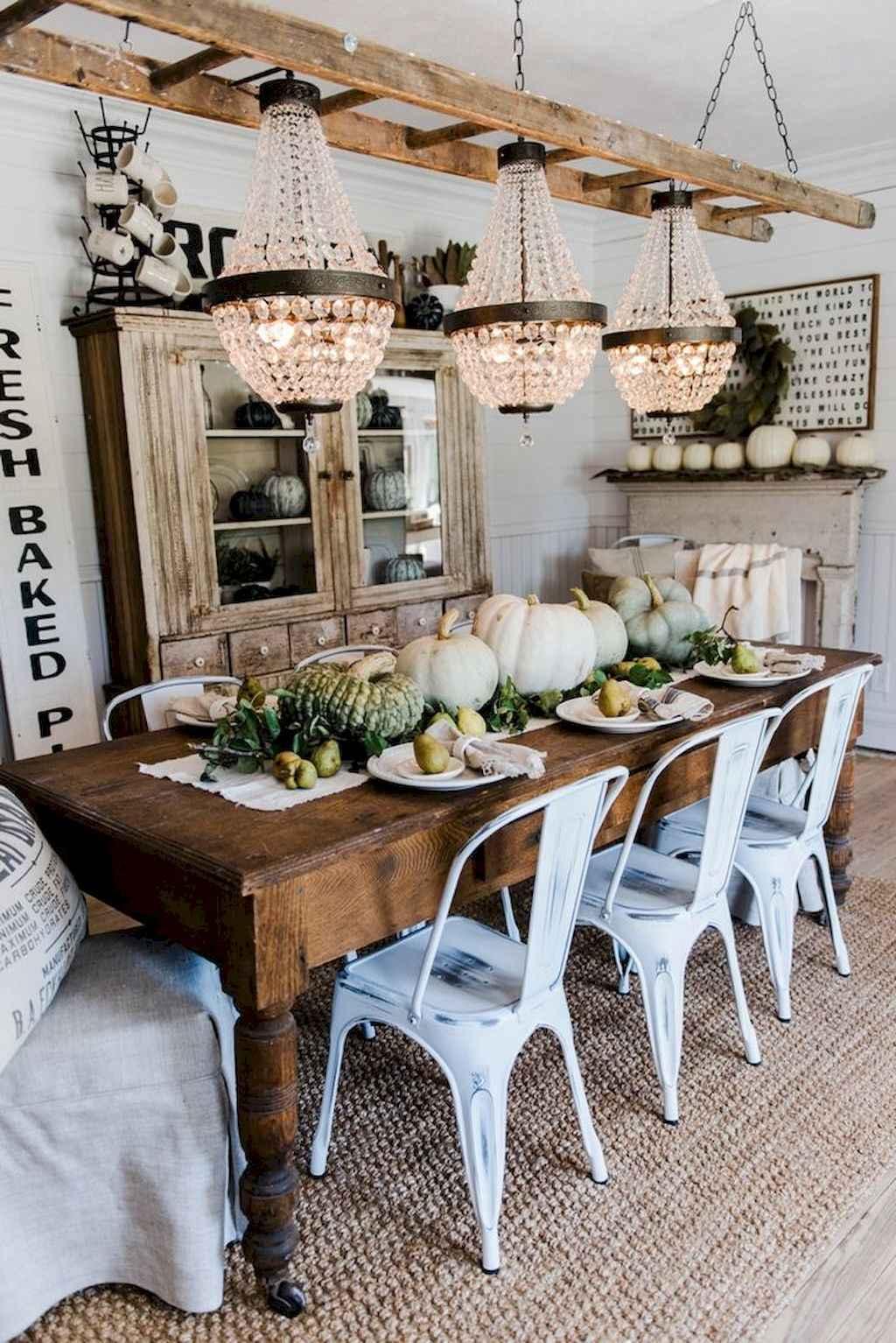 100 best farmhouse dining room decor ideas (196)