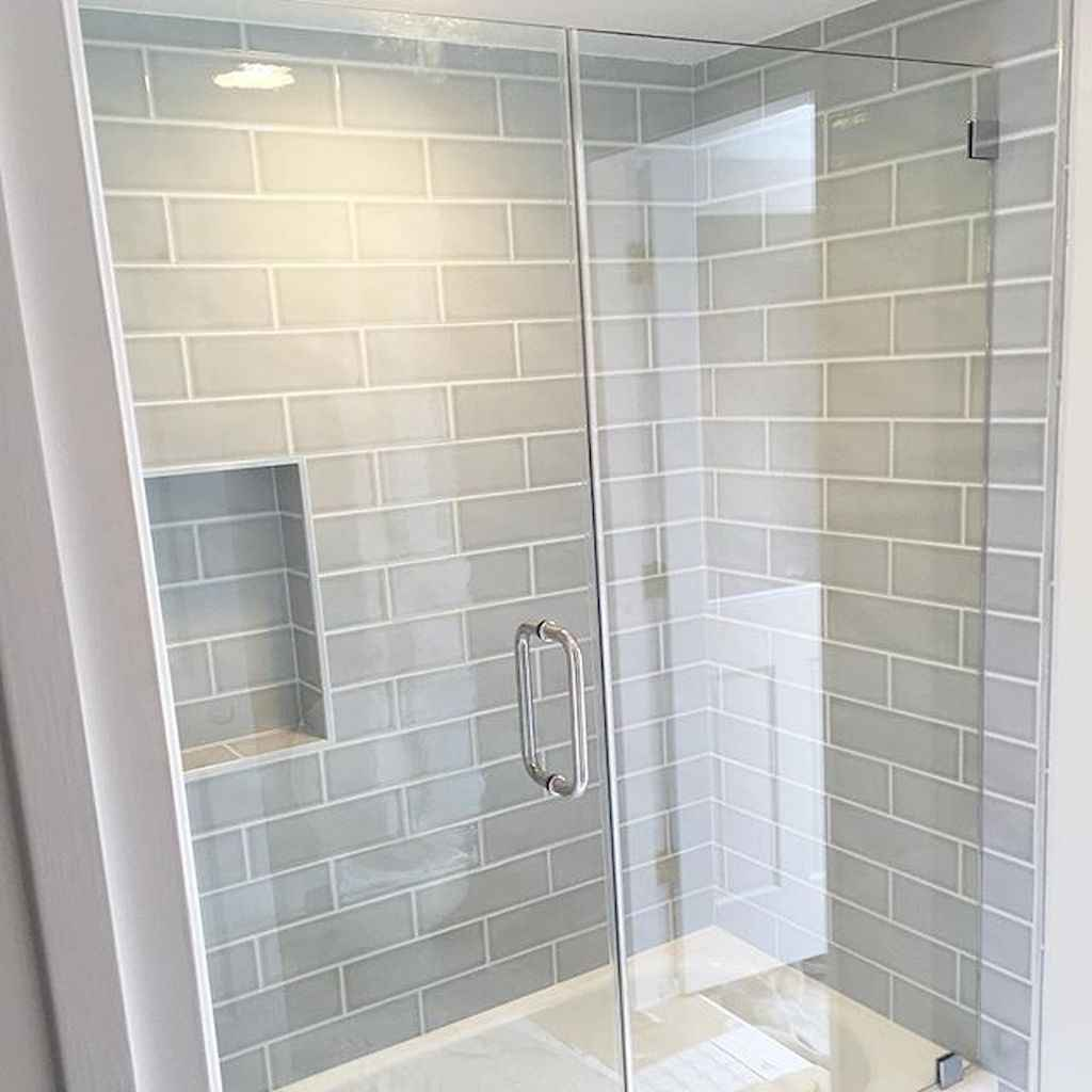 100 best farmhouse bathroom tile shower decor ideas and remodel to ...