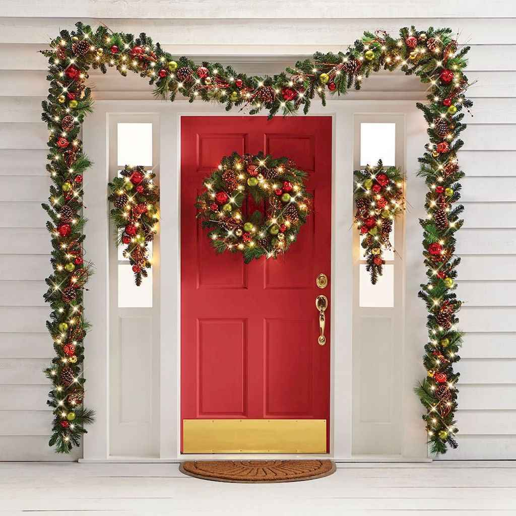 50 beautiful christmas porch decorations ideas and remodel