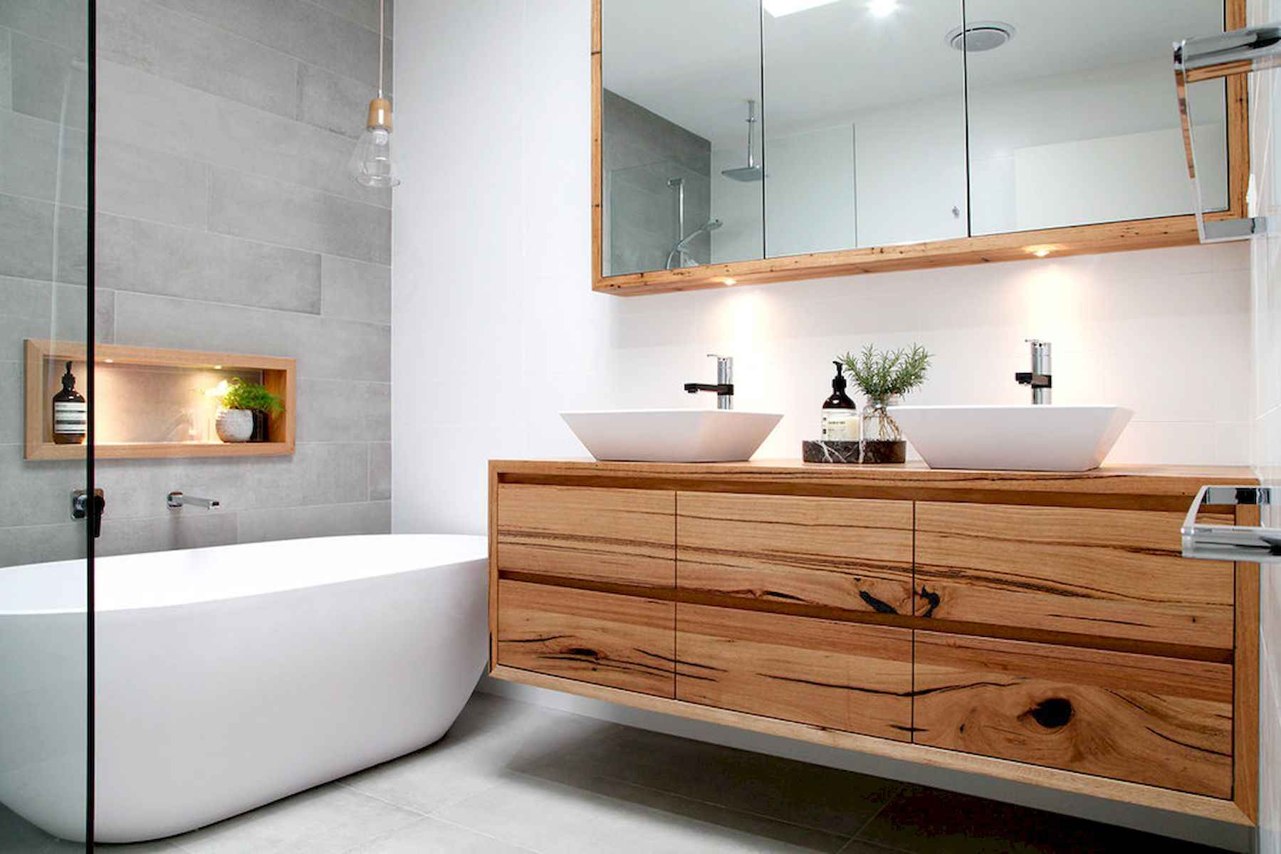70 modern bathroom cabinets ideas decorations and remodel (56)