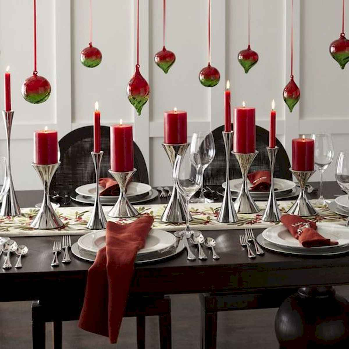35 beautiful christmas decorations table centerpiece (10)