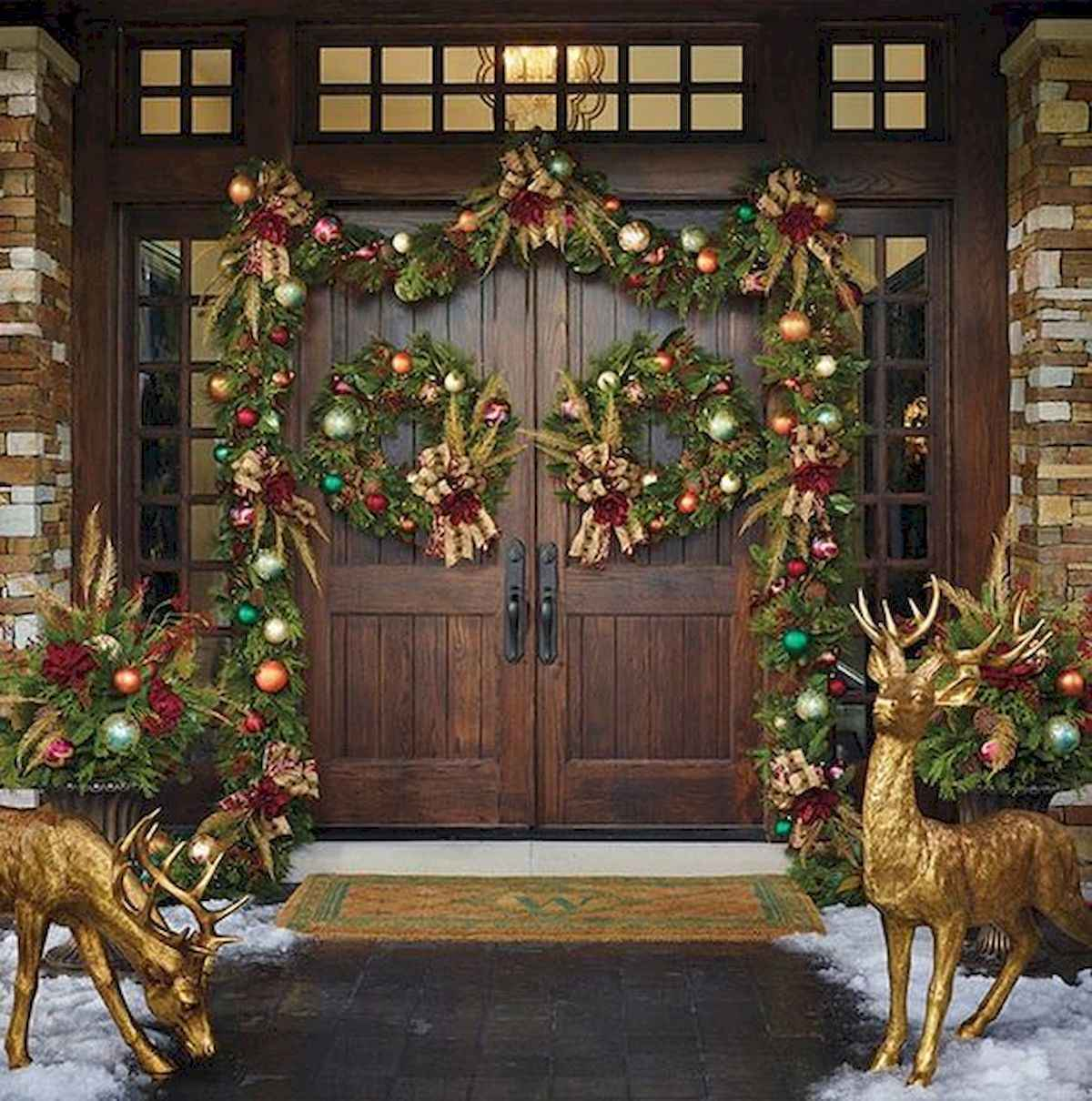 1200 1210 in 50 stunning front porch christmas lights decorations ideas