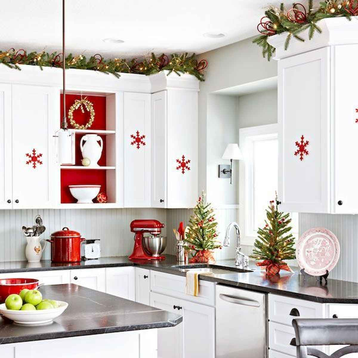 20 best christmas kitchen decor ideas and remodel (11)