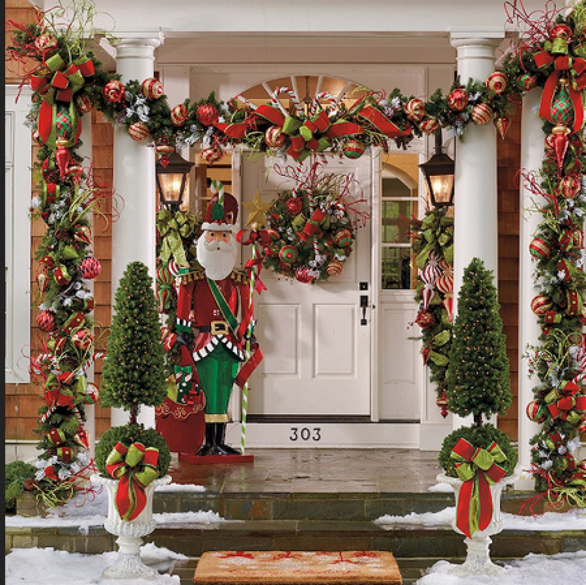 50 Stunning Outdoor Christmas Decor Ideas And Makeover 17