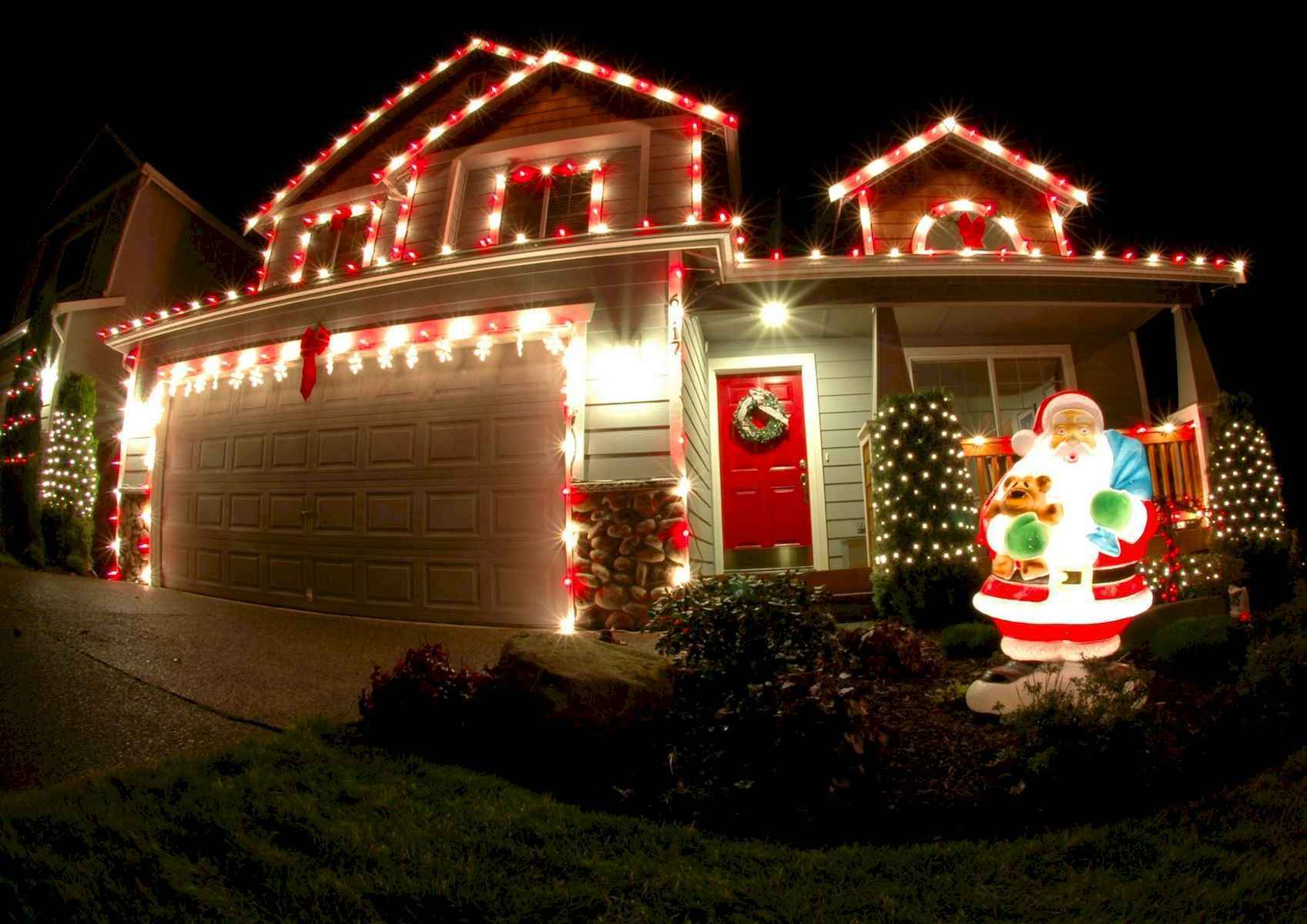50 stunning outdoor christmas decor ideas and makeover (28)