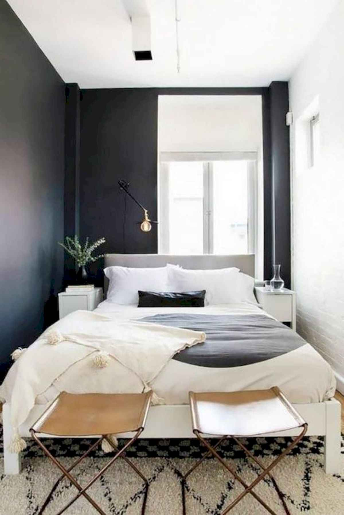 40 creative small apartment bedroom decor ideas (14) - Roomadness.com