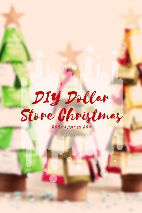 Diy dollar store christmas