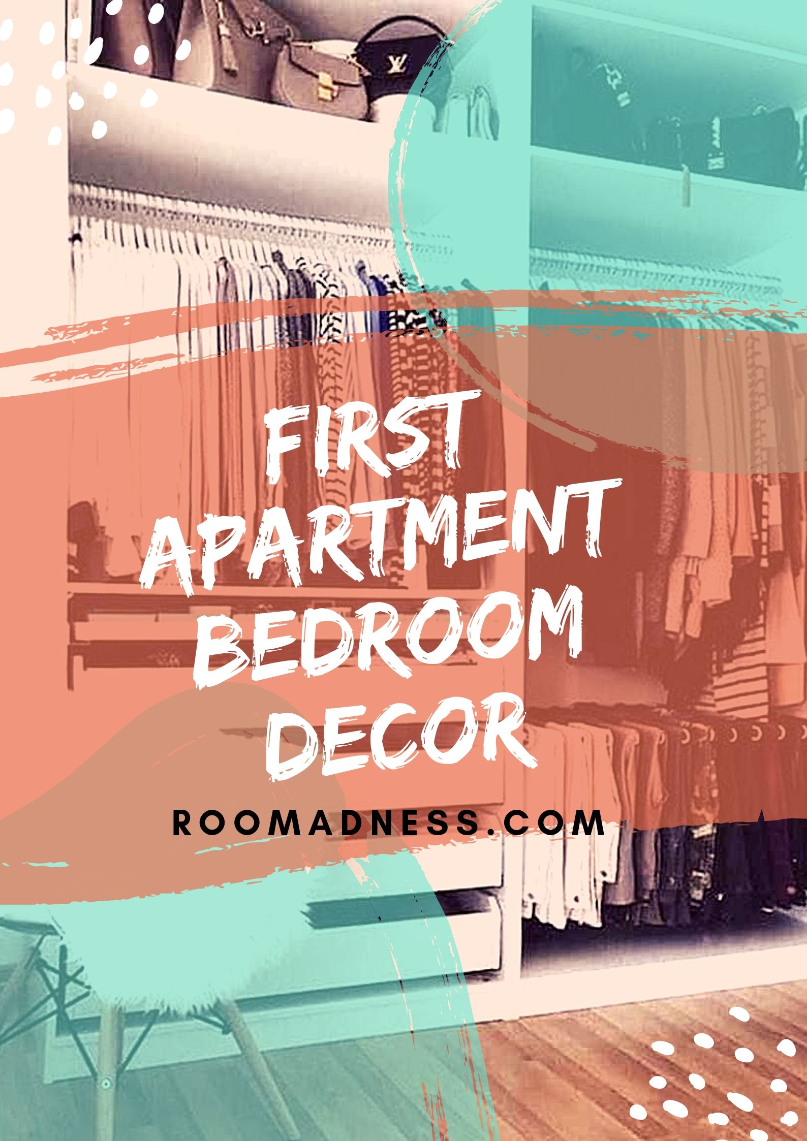 First apartment bedroom decor